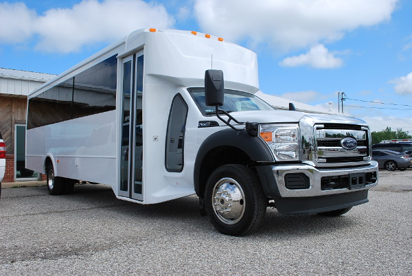 22 Passenger party bus rental Amherst