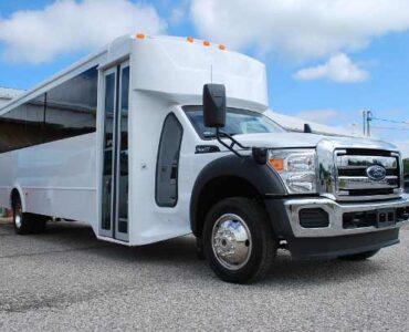 22 Passenger party bus rental East Aurora