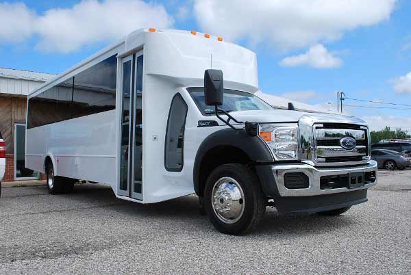 22 Passenger party bus rental lockport