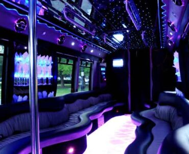 22 people East Aurora party bus