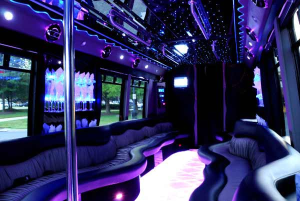 22 people West Seneca party bus