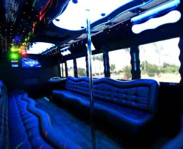 40 people party bus East Aurora