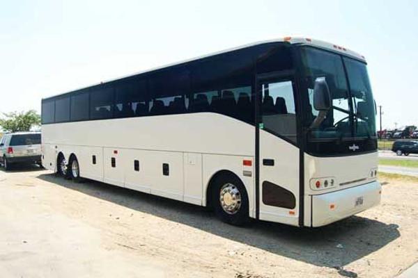 50 passenger charter bus Amherst