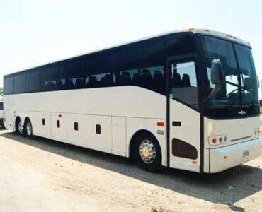 50 passenger charter bus Batavia