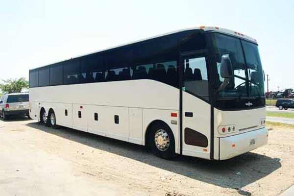 50 passenger charter bus Rochester