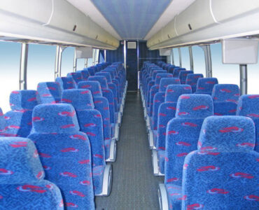 50 people charter bus Amherst