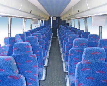 50 people charter bus Brockport