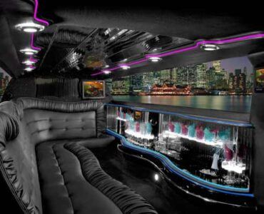 Chrysler 300 Genesee limo interior
