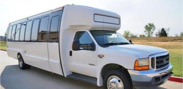 20 passenger shuttle bus rental East Aurora