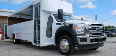 30 passenger bus rental Rochester