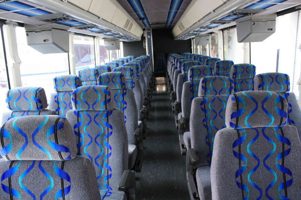 30 person shuttle bus rental Lockport