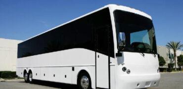 40 passenger charter bus rental Amherst