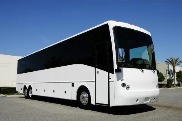 40 passenger charter bus rental East Aurora