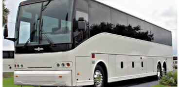 50 passenger charter bus East Aurora