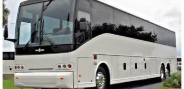 50 passenger charter bus Lockport