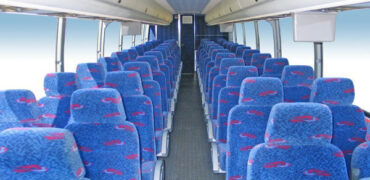 50 person charter bus rental Amherst