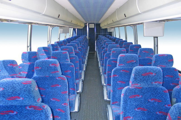50 person charter bus rental East Aurora